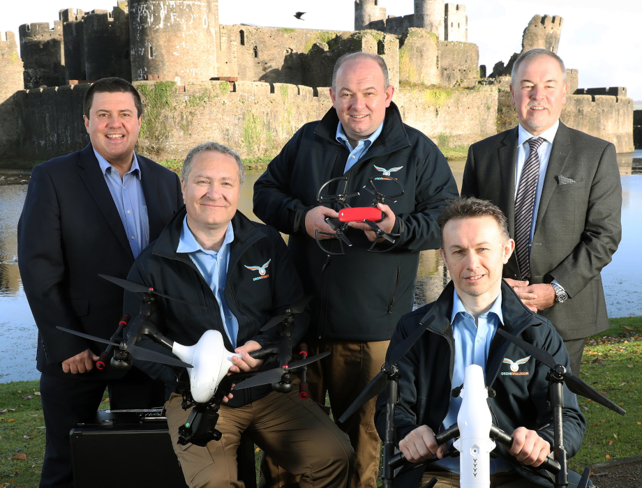 Drone Evolution secures £180k from Wales Angel Co-investment Fund