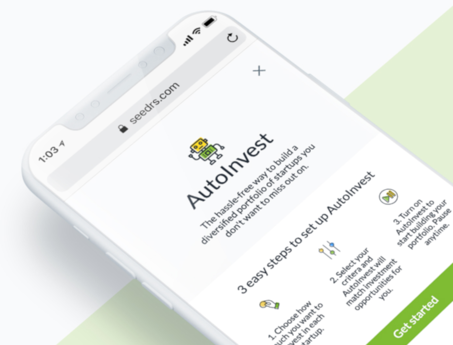 Seedrs Autoinvest launches full customisation as it moves out of Beta