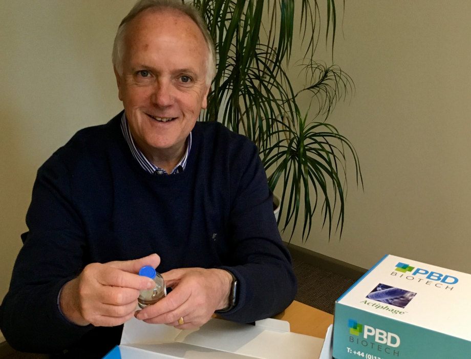 Angel backed PBD Biotech wins Royal Dairy Innovation Award 2019