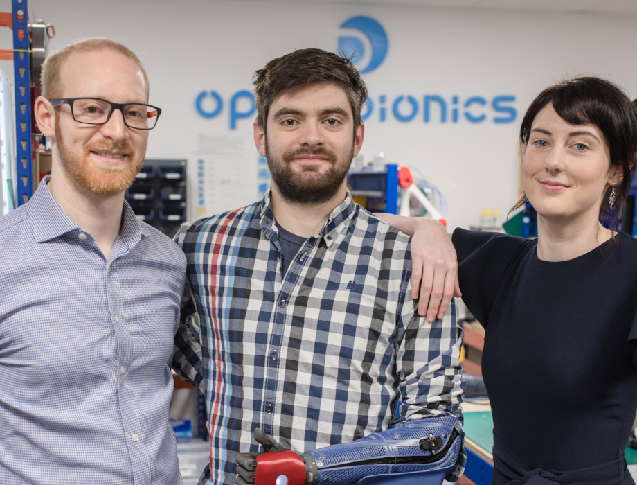 Open Bionics attracts £1.5m investment from Foresight Williams