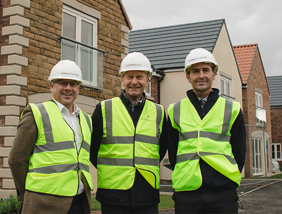 Innovative funding from Maven Bonds drives growth at Homes by Carlton