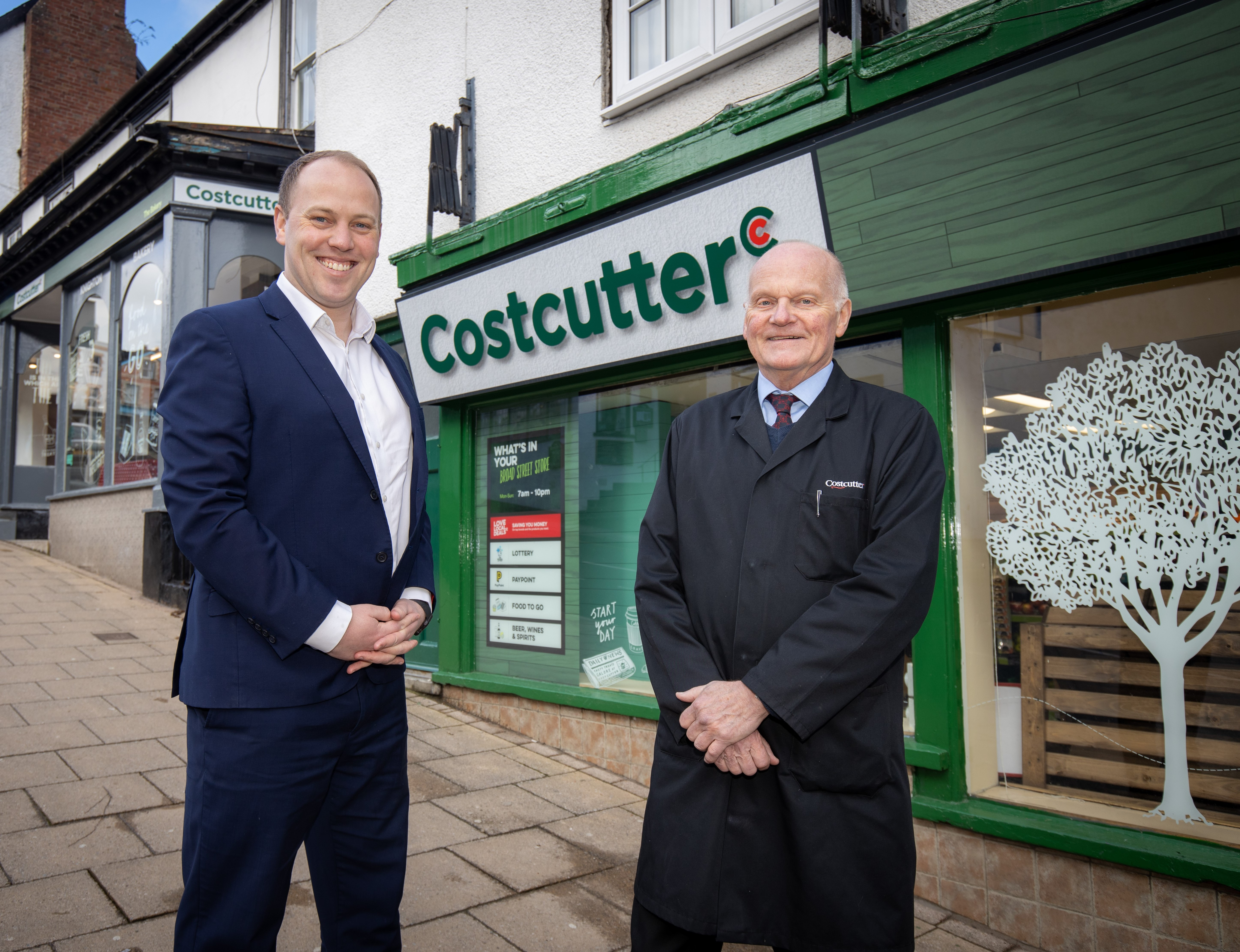 Fresh look for Knighton's Costcutter will help community thrive