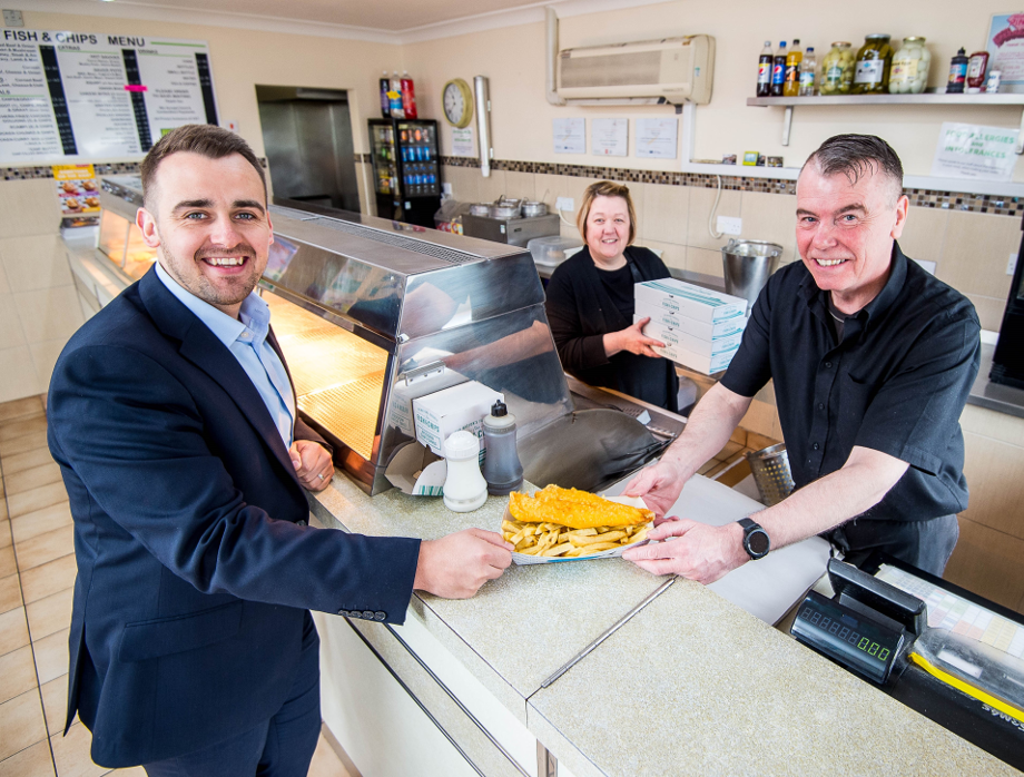 Development Bank of Wales invests in Neil's Fish and Chip Shop