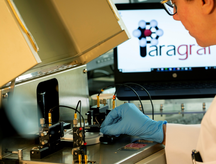 Paragraf opens R&D facility following seed funding