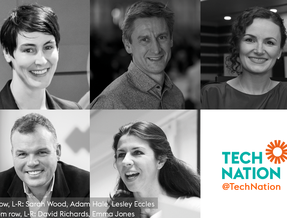 New Tech Nation Board members, five new directors join from across the UK