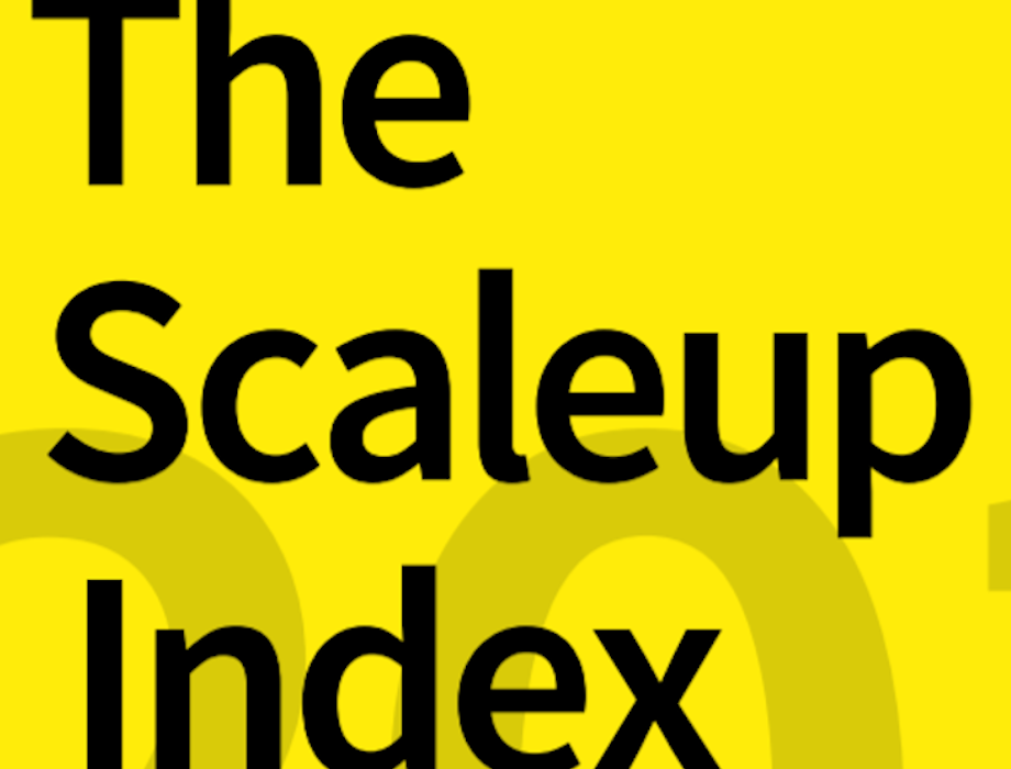 Beauhurst Scale Up Index 2019