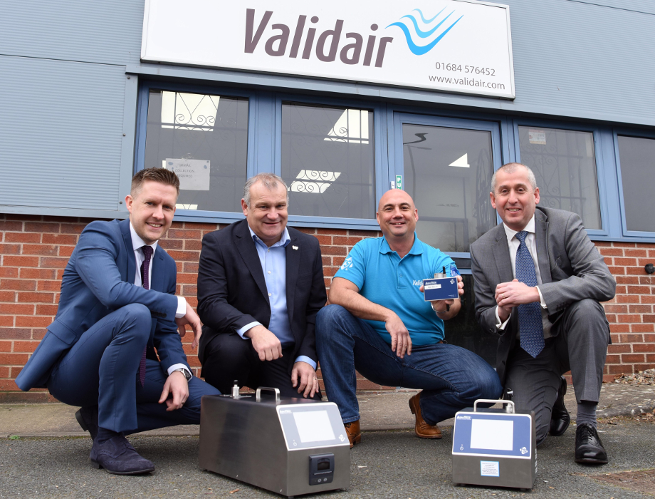 MEIF Maven Debt Finance provides £160k to Validair Monitoring Solutions